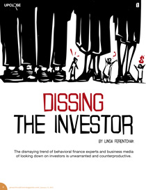 disrespect for the investor is too predominant in financial articles