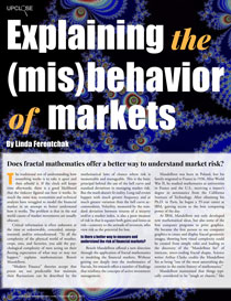 explaining the misbehavior of the markets with fractal mathematics
