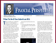The Financial Perspective is a two-page newsletter for investment advisor use.